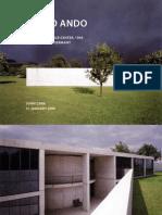Tadao Ando Vitra conference center