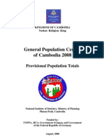 General Population Census of Cambodia 2008