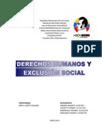 La Exclusión Social, Los Derechos Humanos y Derecho Social