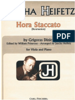 Heifetz Hora Stacato Viola
