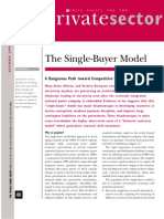 The Single Buyer Model