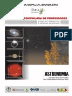 Astronomia - Curso de Astronáultica e Ciência no Espaço