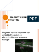 Magnetic Particle Testing ppt