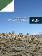 Plan de Manejo de la Vicuña _ Comunidad Campesina Santa Cruz de Tincocancha