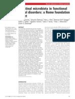 Intestinal Microbiota in Functional Bowel Disorders