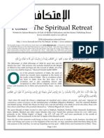 Itikaf - Philosophy and Rules