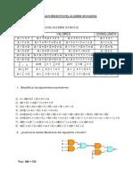 Problemas Resueltos Del Álgebra Booleana