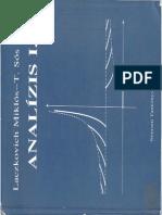 Laczkovich T.ss Analizis 1