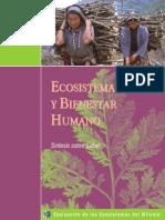 Ecosistemas y Bienestar Humano