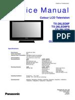 Panasonic LCD TV Service Manual