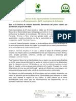 IDEA - Boletín 05-14 Emprendedora Banco