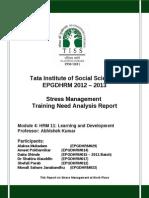 TNA - Stress Maangement