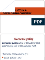 Fiscal Policy in a Developing Country 2014