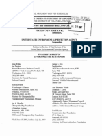 Environmental Plaintiffs Reply Brief New Jersey v EPA