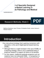 the impact of specially designed digital games-based learning in undergraduate pathology and medical education