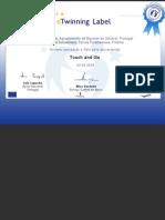 Etw Certificate 13125 Pt