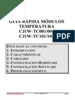 Guia Rapida CJ1W-TC