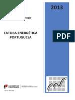Fatura Energética Portuguesa - 2013
