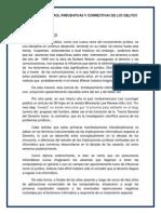 Formas de Control Preventivas y Correctivas de Los Delitos Informaticos