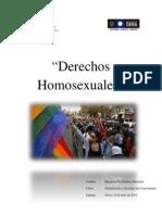 Derechos Homosexuales