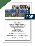 Trabajo Final - Minorías Étnicas, Los Gitanos en España