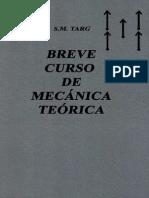Breve Curso de Mecánica Teórica Parte 1 - s. m. Targ
