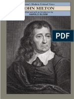 Harold Bloom Editor John Milton Blooms Modern Critical Views 2004