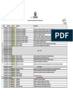 Calendário Escolar Por Curso - ADM