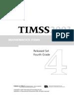 Timss 2003_maths Grade 4
