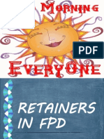 retainers in fpd