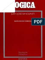 Sanguinetti, Jose - Logica