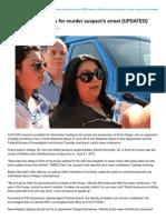 Victim's Family Pleads for Murder Suspect's Arrest - My Redondo Beach