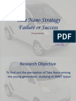 tata nano strategy failure or success