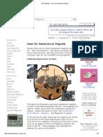 K&J Magnetics - Uses for Neodymium Magnets