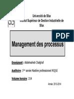 Managements Des Processus MIQSE 2013-2014 [Lecture Seule] [Mode de Compatibilité]