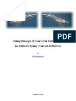 Using Omega-3 Fatty Acids to Relieve Arthritis
