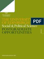 Pg Social Political Science 2014