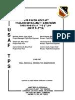 F-16b Pacer Aircraft