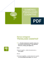 Curs Introductiv Psihologie Cognitiv-ã