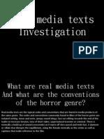 real media texts