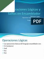 3. Operaciones Lógicas