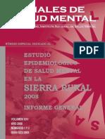 Epidemiologico Salud Mental Sierra 2008