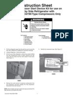 Compressor Start Relay Instructions