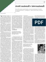 Vannutelli - I conflitti nei contratti nazionali e internazionali