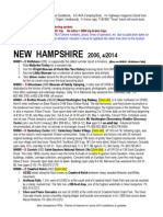 NEW HAMPSHIRE Points Interest 2014
