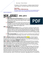 NEW JERSEY Points of Interest 2014