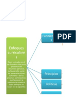 Mapa Conceptual Enfoques Curriculares