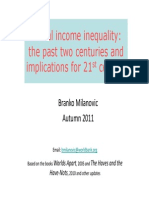 Branko Milanovic - Global Income Inequality