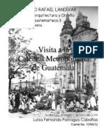 Visita Catedral Metropolitana