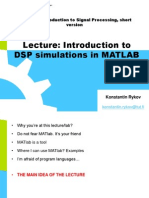 Introduction to DSP simulations in MATLAB.pdf